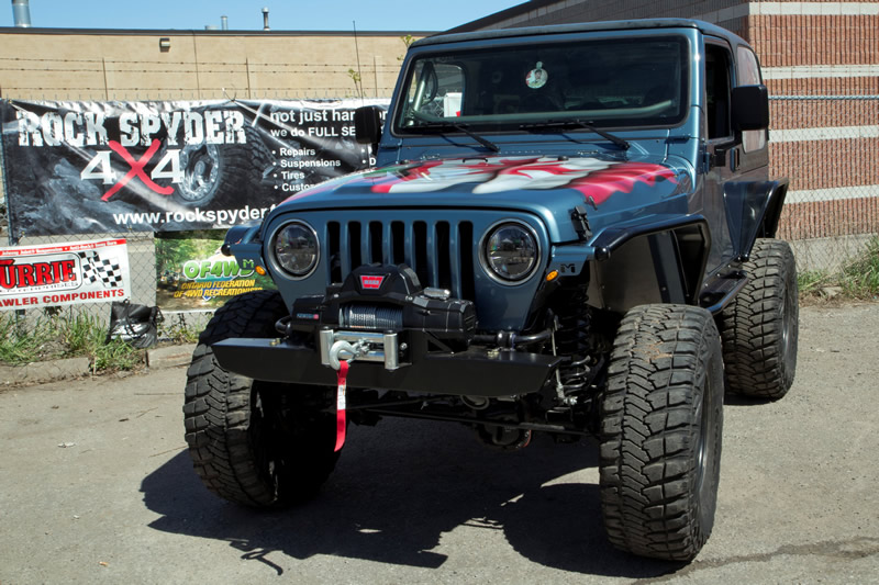 Rock Spyder 4x4 Customer Appreciation Day 2013